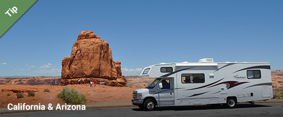 Camper rental in the USA - Motorhome Bookers RV rental