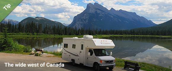 Camper rental in Canada - Motorhome Bookers