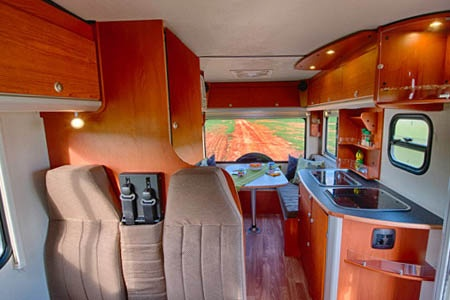 Interior view - Bobo Campers, Discoverer 4