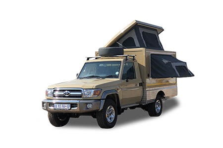 Exterior view - Britz, 4WD Orion 2-Berth