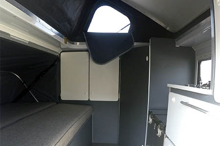 Interior view - Britz, 4WD Orion 2-Berth