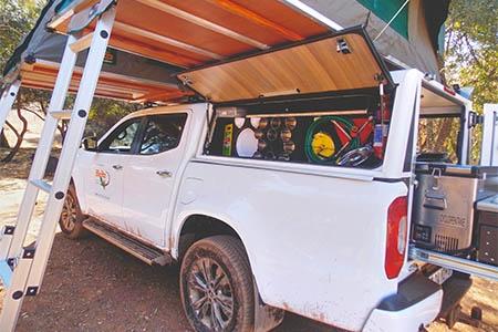 Aussenansicht Britz 4WD XClass 4-Bett
