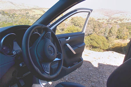 Innenansicht Britz 4WD XClass 4-Bett