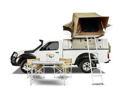 Aussenansicht Britz 4WD MSEP 2-Bett