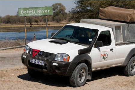 Exterior view - Britz, 4WD MSEP 2-Berth