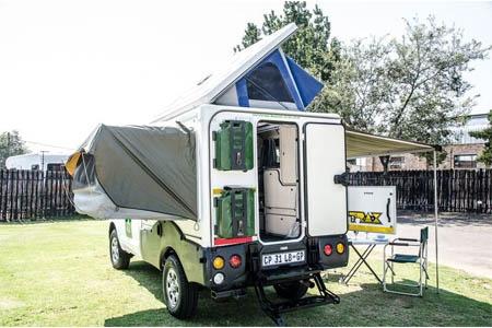 Aussenansicht Britz 4WD TX 2-Bett