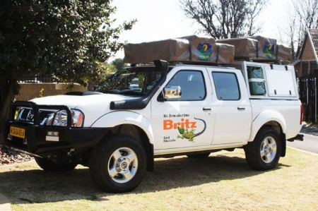 Aussenansicht Britz 4WD DCE 4-Bett