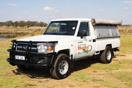 Aussenansicht Britz 4WD SLE 2-Bett