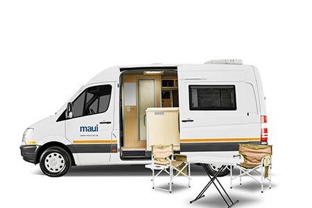 Aussenansicht Maui 2-Bett Camper