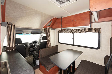 Interior view - Maui, 4-Berth Camper STL