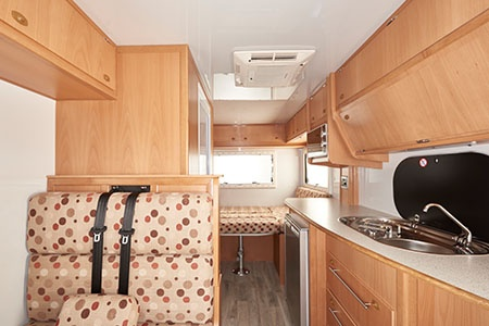 Interior view - Maui, 4-Berth Camper 4STi