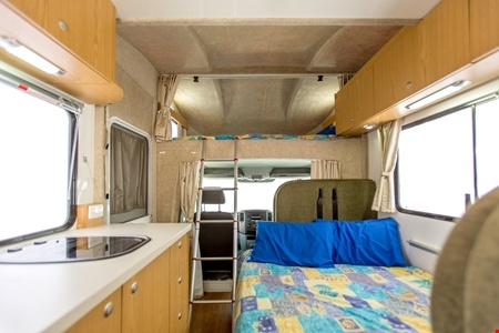 Interior view - Apollo Motorhome Holidays, Euro Camper