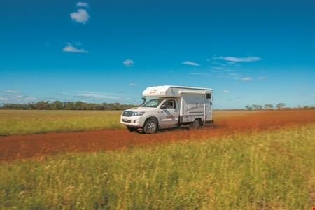 Exterior view - Apollo Motorhome Holidays, 4WD Adventure Camper