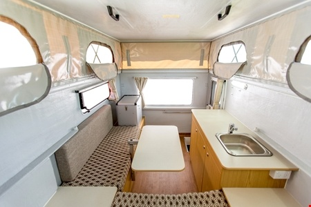 Interior view - Apollo Motorhome Holidays, 4WD Adventure Camper