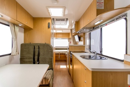 Interior view - Apollo Motorhome Holidays, Euro Deluxe