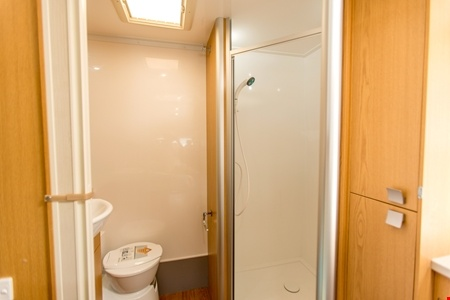 Interior view - Apollo Motorhome Holidays, Euro Slider