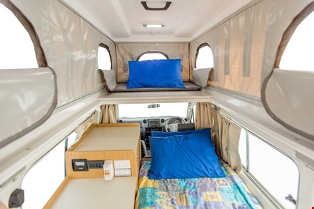 Interior view - Apollo Motorhome Holidays, 4WD Trailfinder Camper
