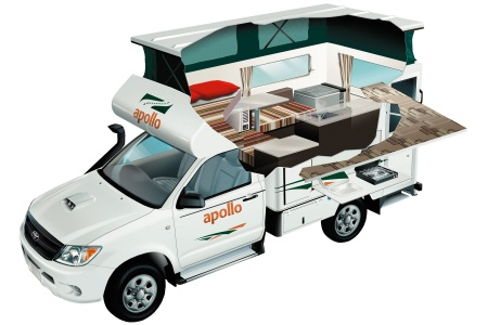 Apollo Motorhome Holidays 4WD Adventure Camper