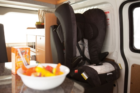 Interior view - Apollo Motorhome Holidays, Endeavour Camper