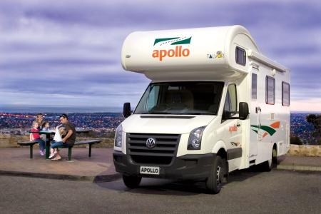 Exterior view - Apollo Motorhome Holidays, Euro Deluxe