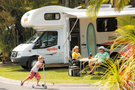 Exterior view - Apollo Motorhome Holidays, Euro Star Automatic