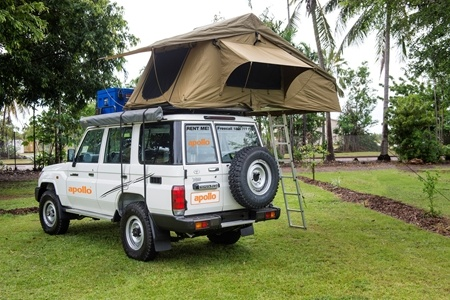 Exterior view - Apollo Motorhome Holidays, 4WD Overlander