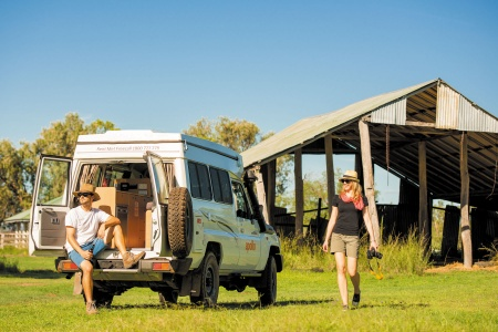 Exterior view - Apollo Motorhome Holidays, 4WD Trailfinder