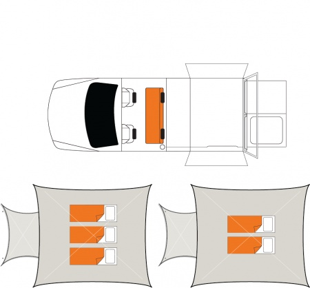Floor plan - Britz, 4WD Outback
