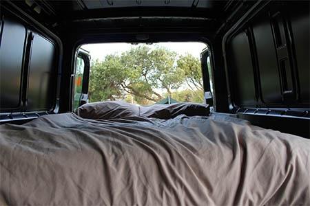 Interior view - Britz, 4WD Scout