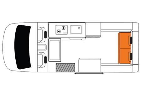 Grundriss Britz Voyager Camper