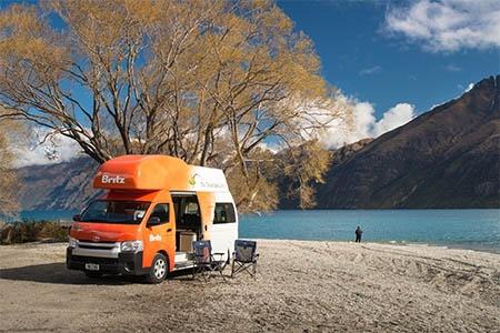 Aussenansicht Britz Voyager Camper