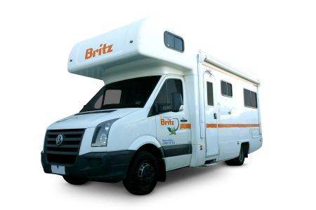 Aussenansicht Britz Frontier Motorhome