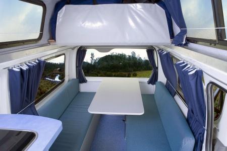 Interior view - Britz, Hitop Camper