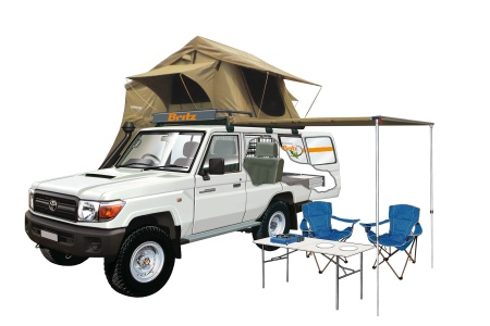 Britz 4WD Safari Landcruiser