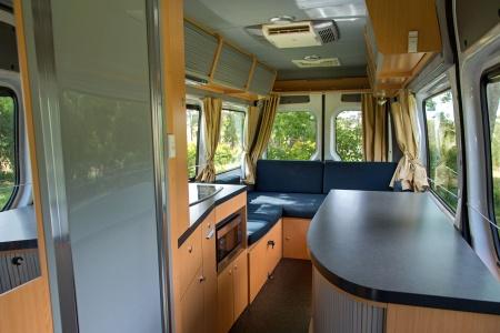 Interior view - Britz, Venturer Camper