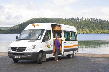 Aussenansicht Britz Venturer Plus Camper