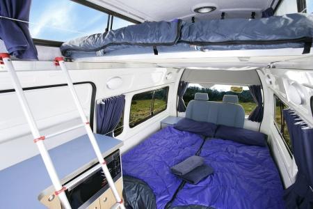Interior view - Britz, Voyager Camper