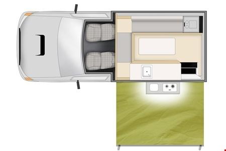 Grundriss Cheapa Campa Cheapa 4WD Camper