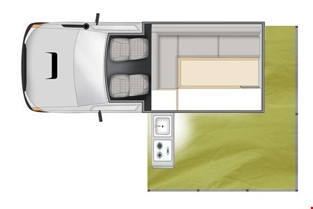 Grundriss Cheapa Campa Cheapa 4WD Trailfinder