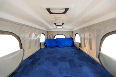 Interior view - Cheapa Campa, Cheapa 4WD Trailfinder Camper