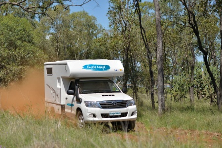 Aussenansicht Cheapa Campa Cheapa 4WD Camper