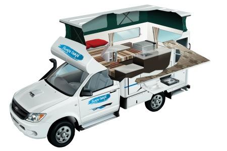 Cheapa Campa Cheapa 4WD Camper