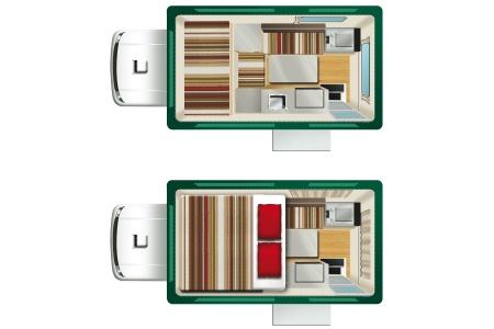Floor plan - Cheapa Campa, Cheapa 4WD Camper