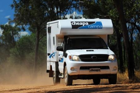 Exterior view - Cheapa Campa, Cheapa 4WD Camper