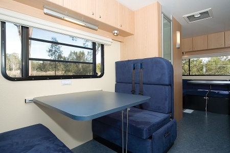 Interior view - Cheapa Campa, Cheapa 6-Berth