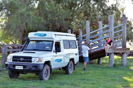 Aussenansicht Cheapa Campa Cheapa 4WD Trailfinder Camper