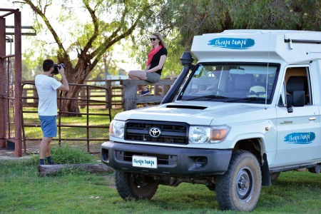 Exterior view - Cheapa Campa, Cheapa 4WD Trailfinder Camper