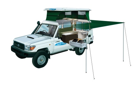 Cheapa Campa Cheapa 4WD Trailfinder Camper