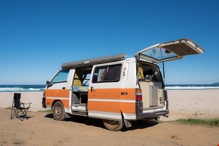 Aussenansicht Hippie Camper Hippie Drift