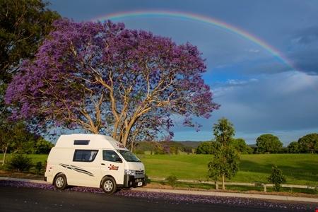 Aussenansicht Hippie Camper Hippie Endeavour